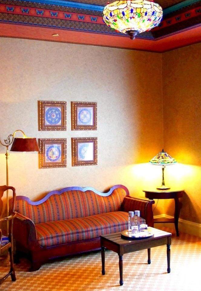 Resort property living room cottage Suite Bedroom Villa orange