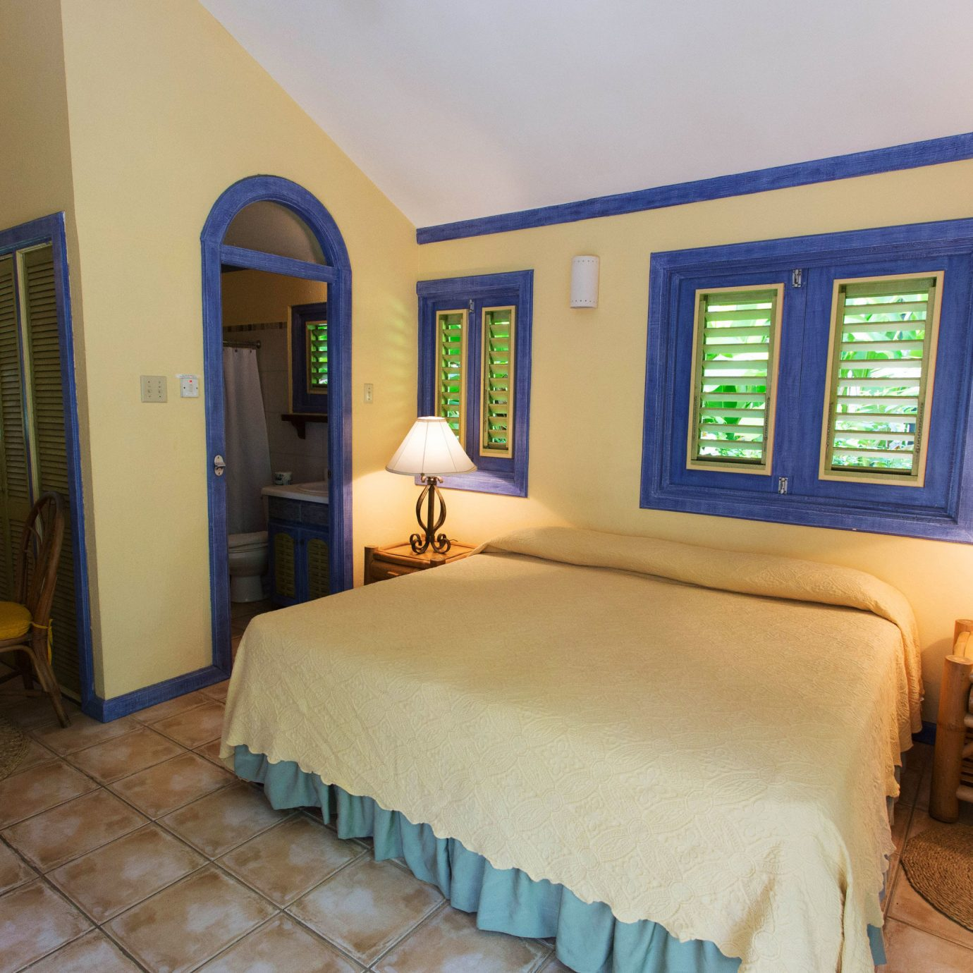 property Bedroom yellow Suite Villa cottage Resort
