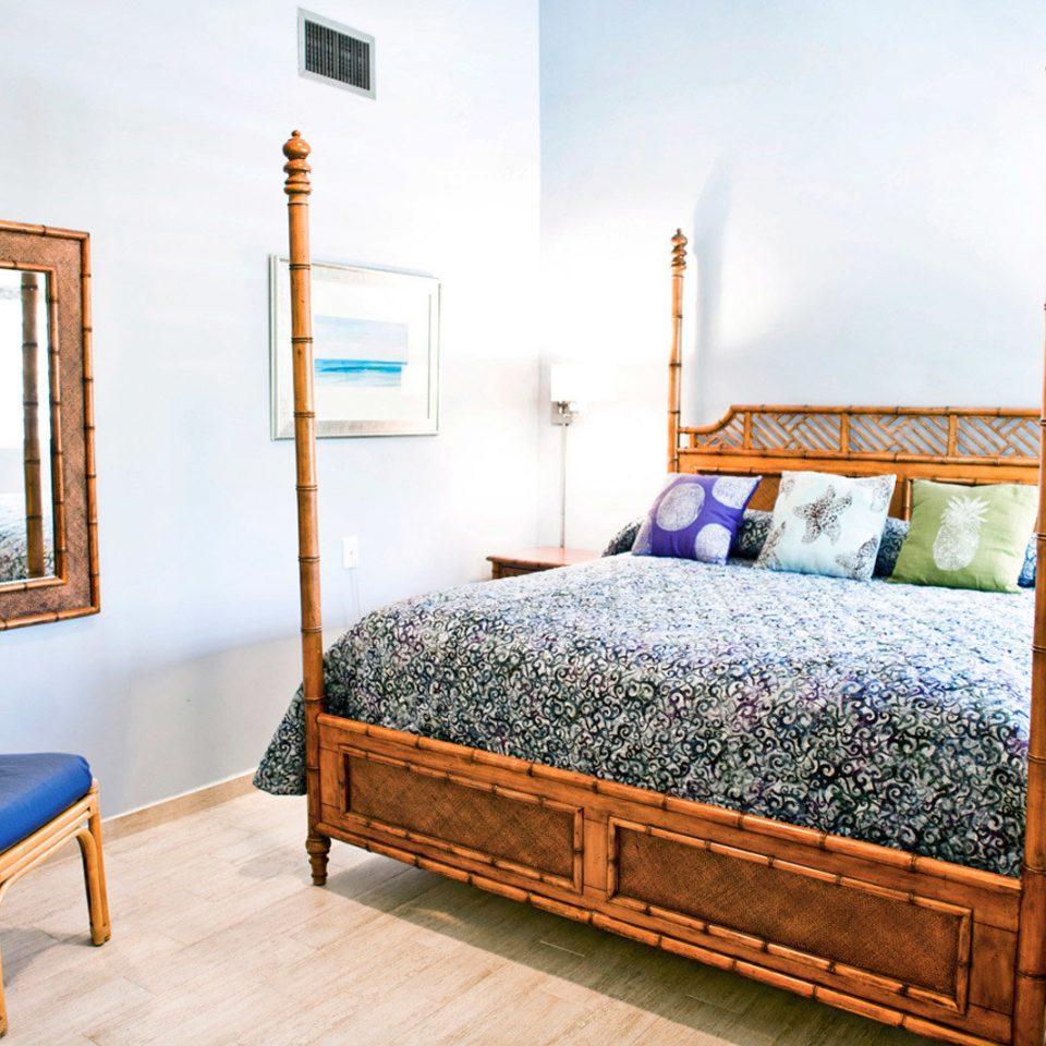 Bedroom property home cottage Suite Villa Resort bed sheet bed frame blue