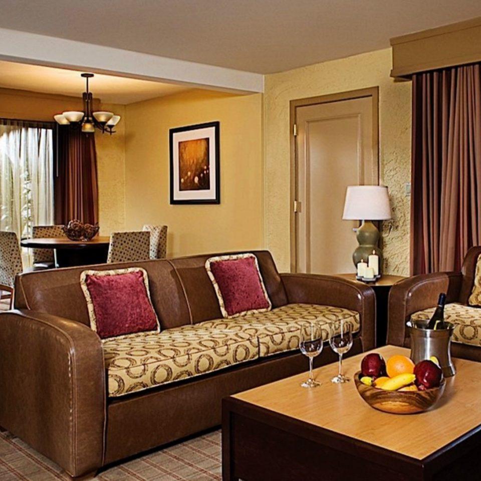 sofa property Suite living room home nice condominium cottage Resort Villa Bedroom lamp