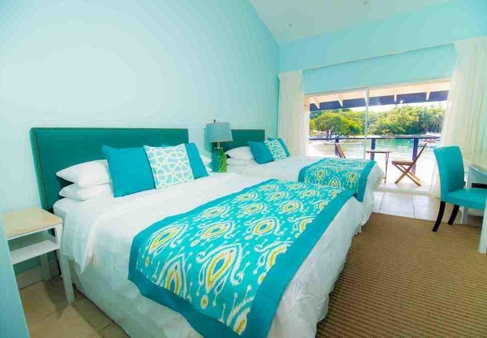 sofa Bedroom property green cottage Resort blue Suite bed sheet Villa