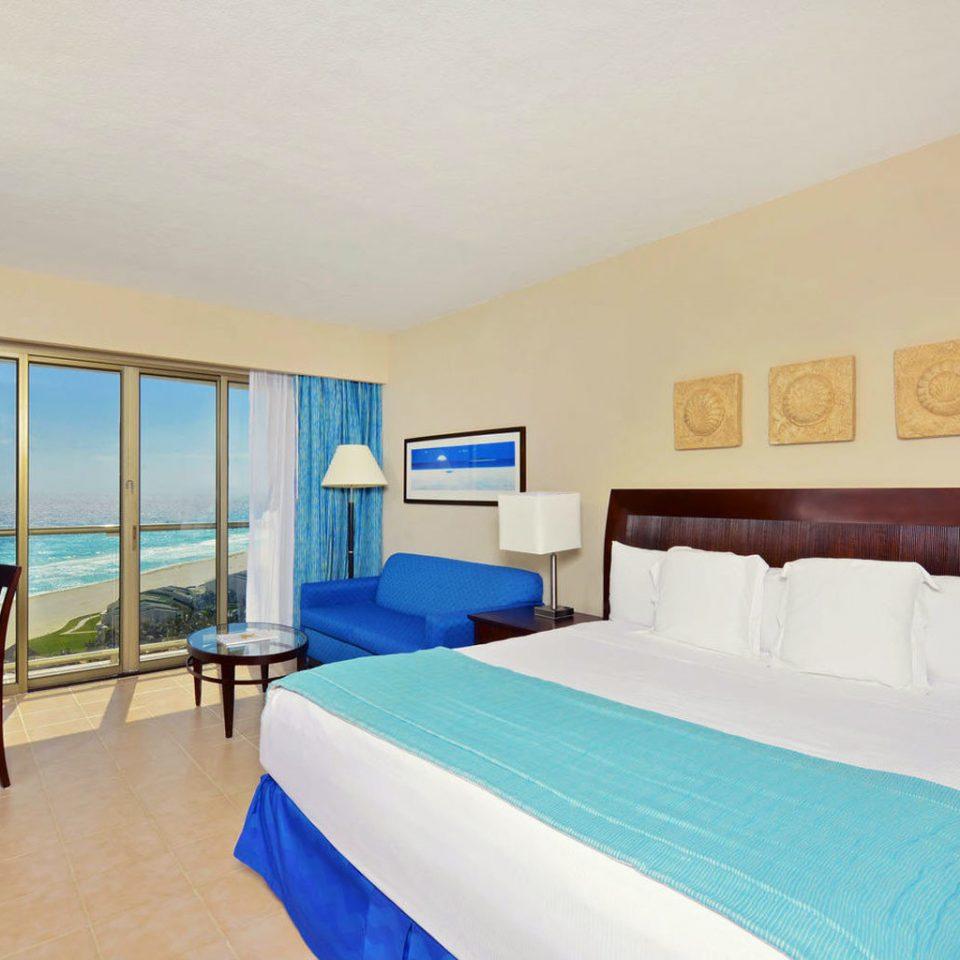 property Bedroom scene Suite blue Resort Villa cottage