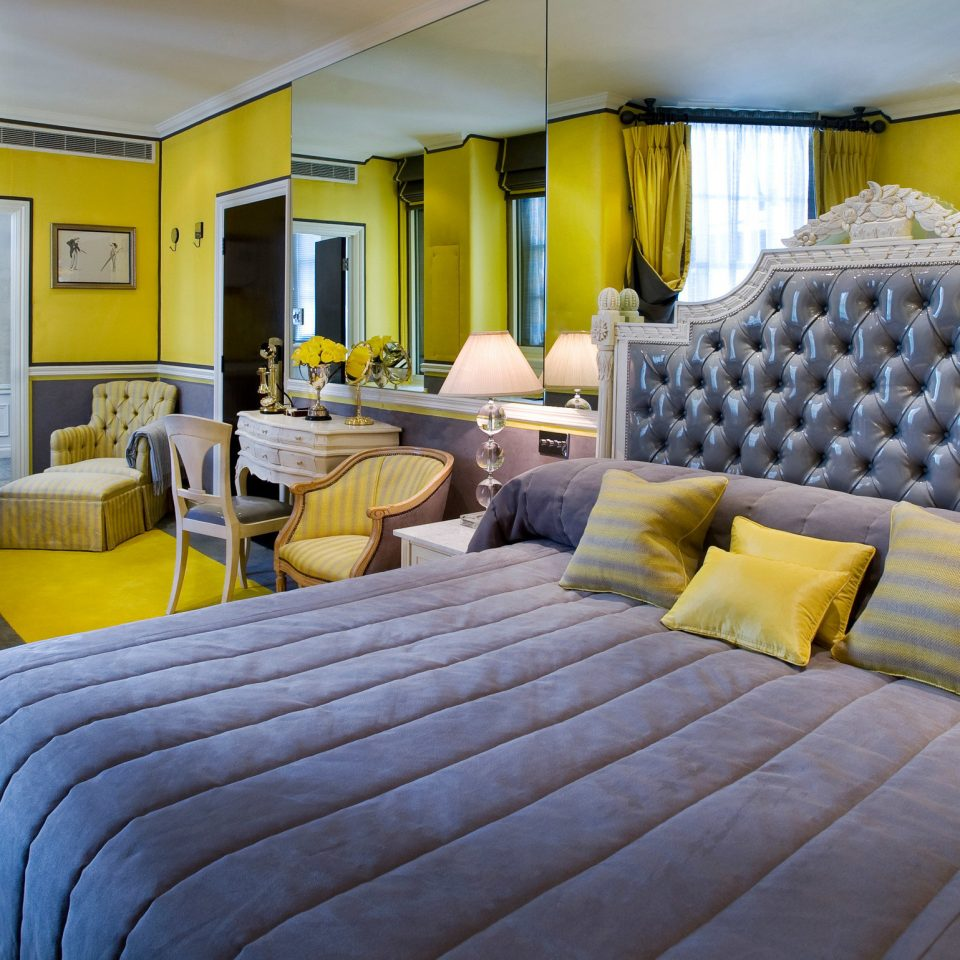 property yellow Suite home living room Resort cottage condominium Villa Bedroom colored