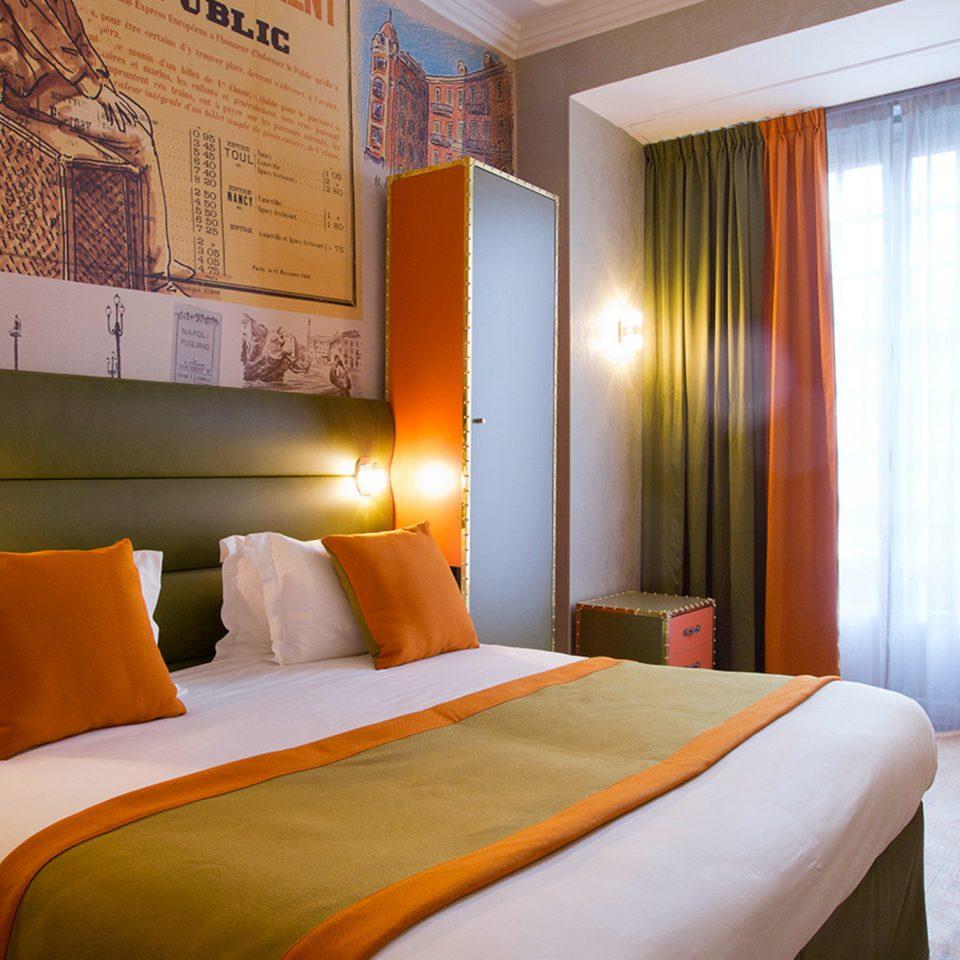 Bedroom property Suite orange Resort Villa cottage