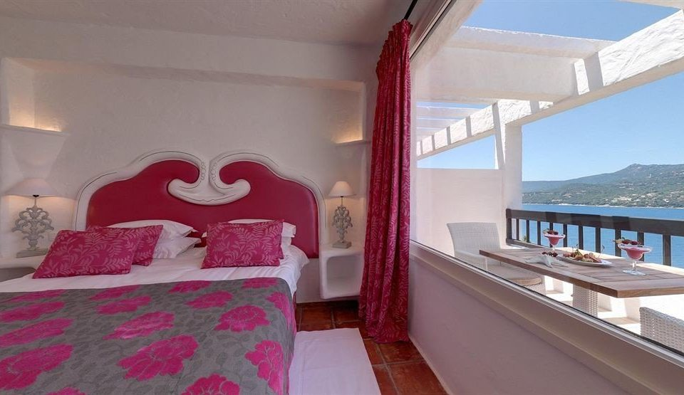 property red Villa Resort cottage Suite Bedroom