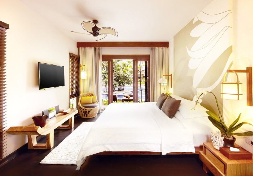 property Suite Bedroom living room home Villa cottage Resort