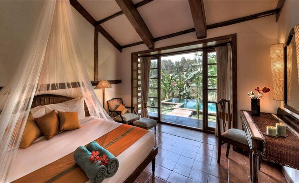 property Resort Suite Villa cottage living room Bedroom