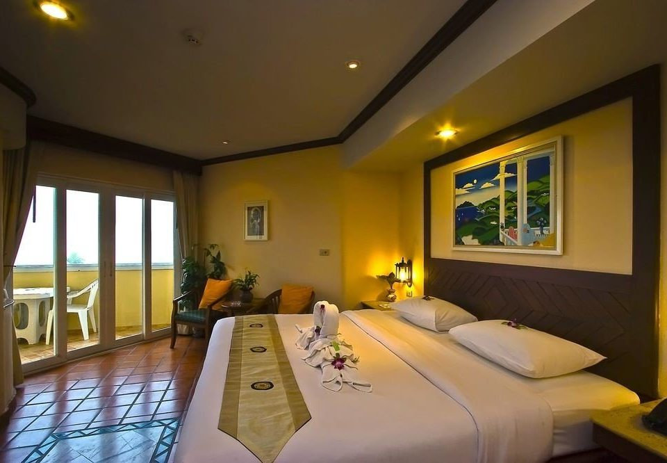 property yellow condominium Resort Suite home Bedroom Villa cottage living room lamp