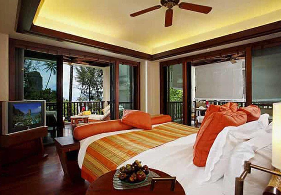 property Suite living room orange Bedroom Resort home cottage Villa