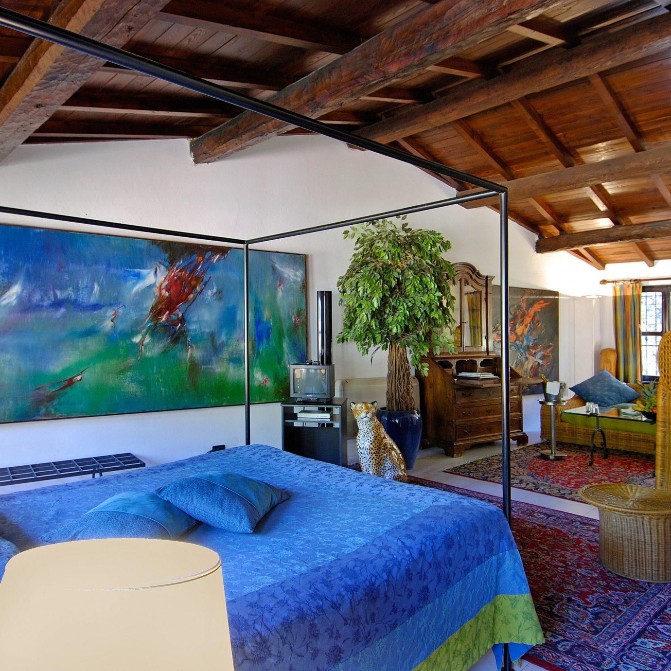 property house Resort home cottage Villa Bedroom living room