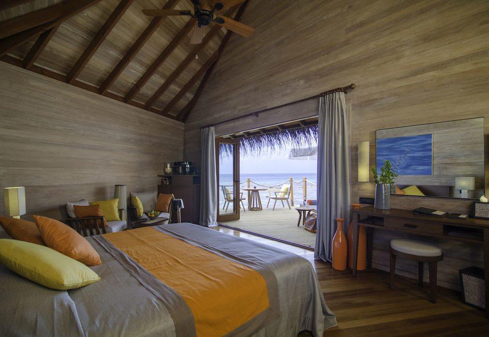 property house Bedroom cottage home log cabin Villa farmhouse Resort living room