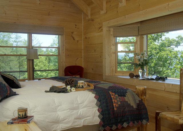 property Bedroom cottage home Villa log cabin Resort farmhouse