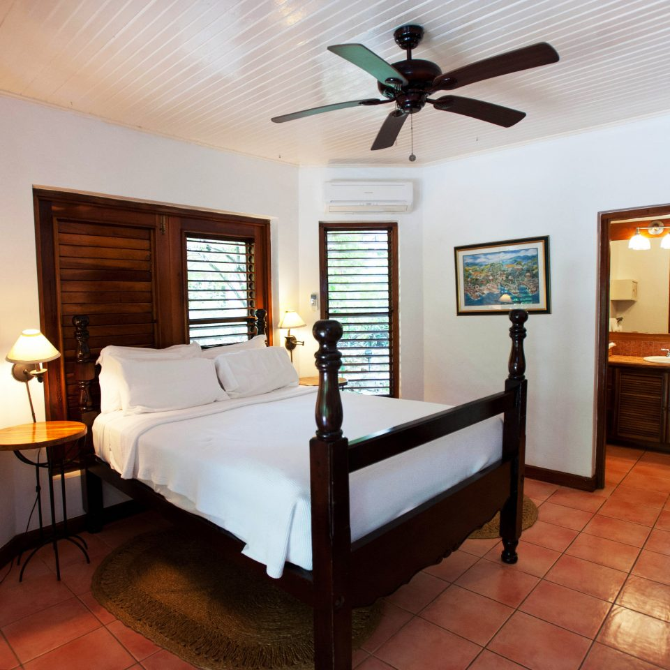 Bedroom Romance Romantic Rustic Tropical Waterfront property house home cottage living room Suite Villa