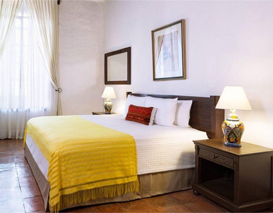 Bedroom Rustic property Suite cottage bed sheet