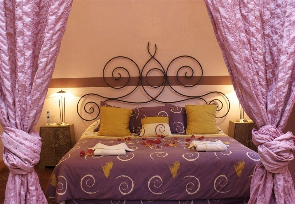 Bedroom Rustic Suite curtain pink purple quinceañera bed sheet