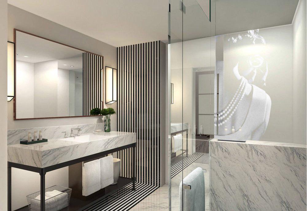 bathroom property bathtub plumbing fixture flooring Bedroom Suite professional