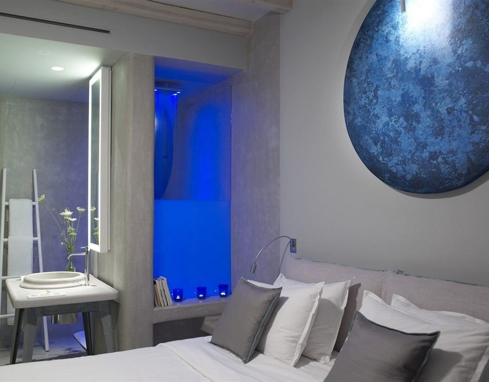 blue bathroom swimming pool Suite Bedroom