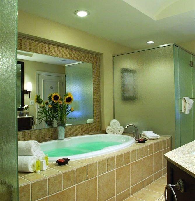 bathroom property sink home Suite condominium swimming pool Bedroom