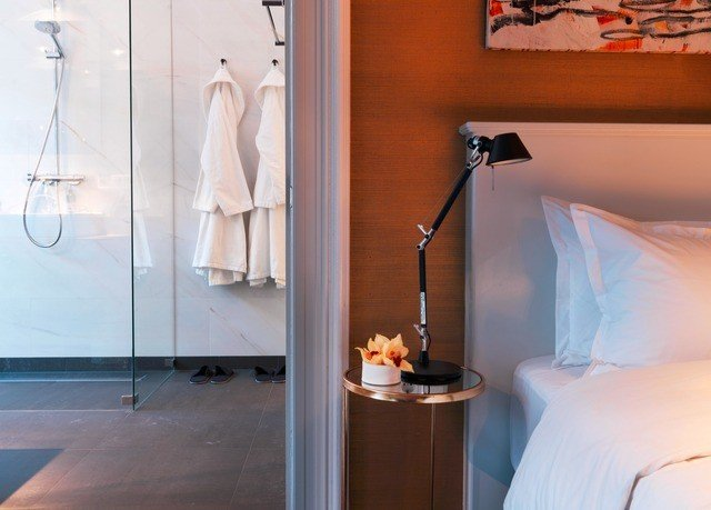 bathroom white lighting home Suite glass Bedroom lamp