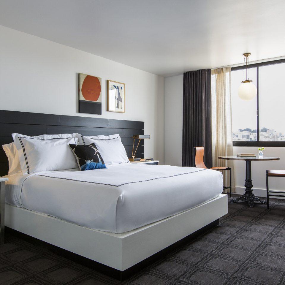 property Bedroom living room Suite home bed frame bed sheet