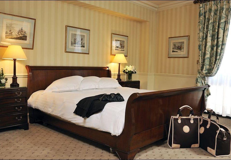 property Bedroom bed frame hardwood bed sheet studio couch Suite