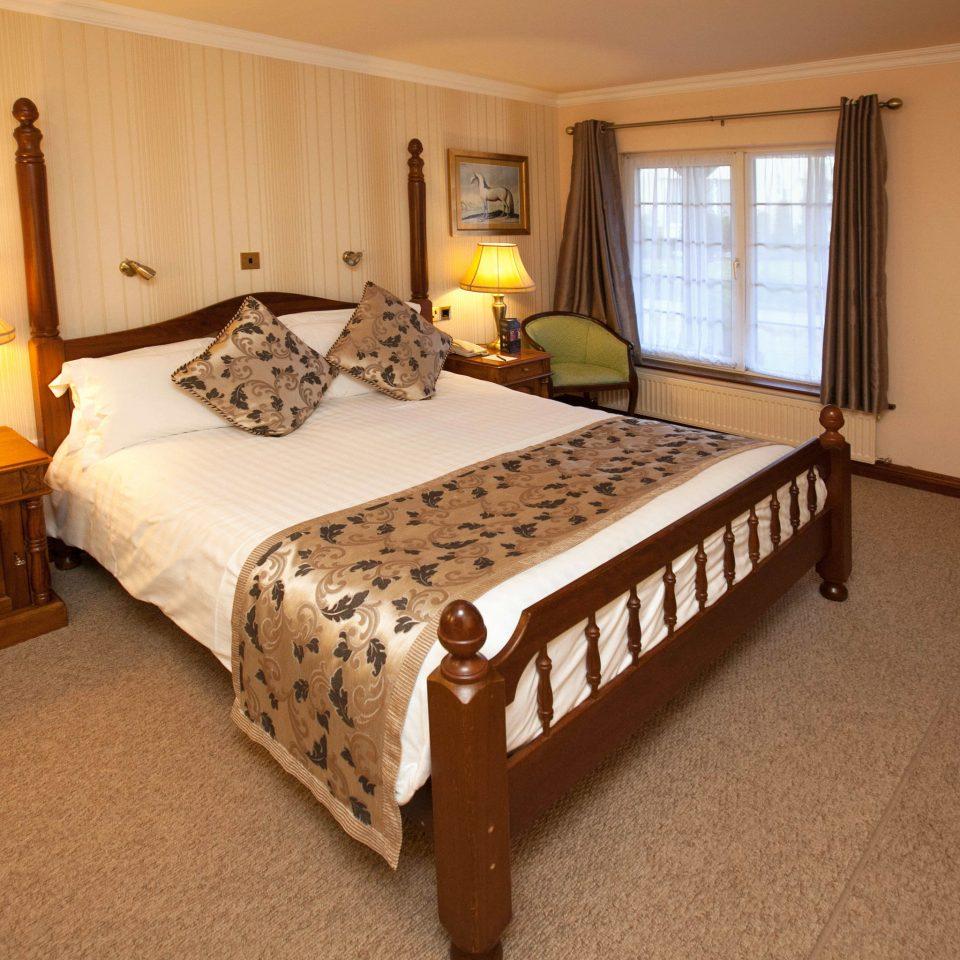 Bedroom property cottage hardwood home Suite bed frame bed sheet lamp