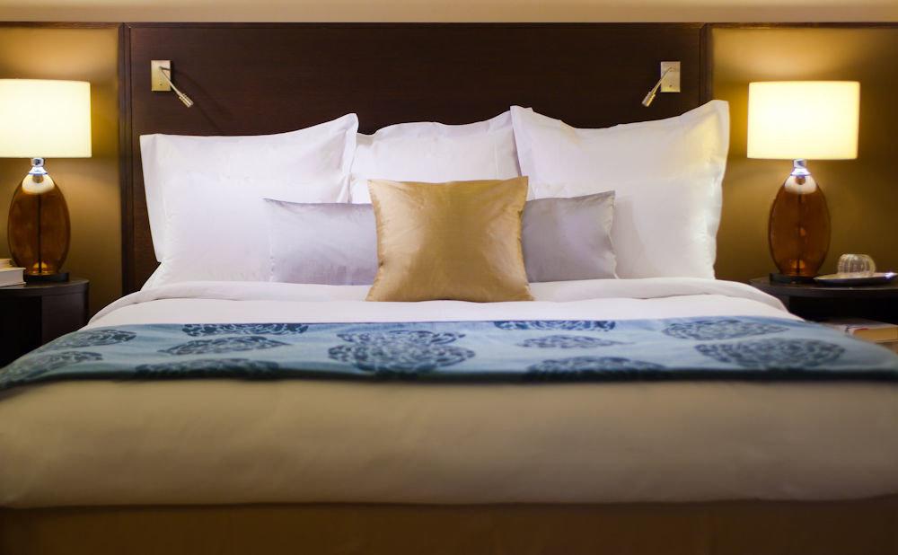 pillow Bedroom Suite bed sheet duvet cover bed frame textile lamp