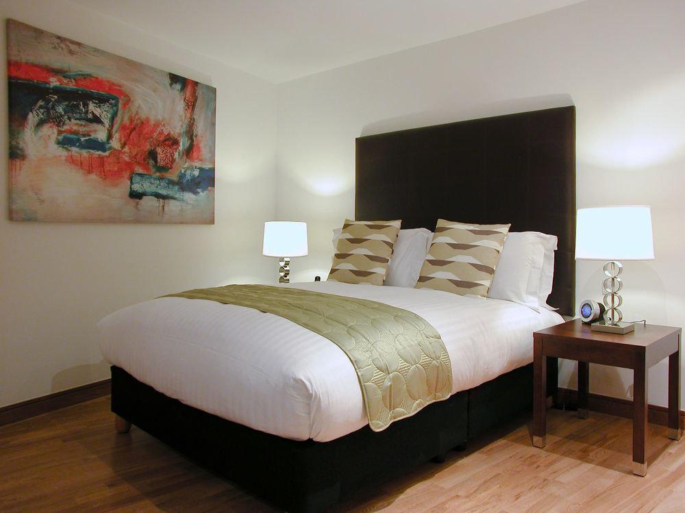 property Bedroom bed frame Suite bed sheet