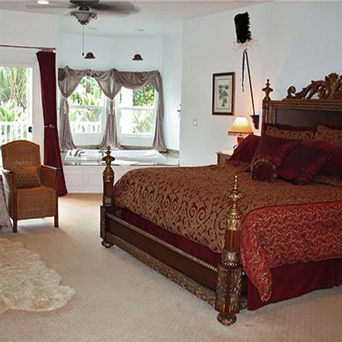 Bedroom property bed sheet hardwood Suite home bed frame cottage living room studio couch textile