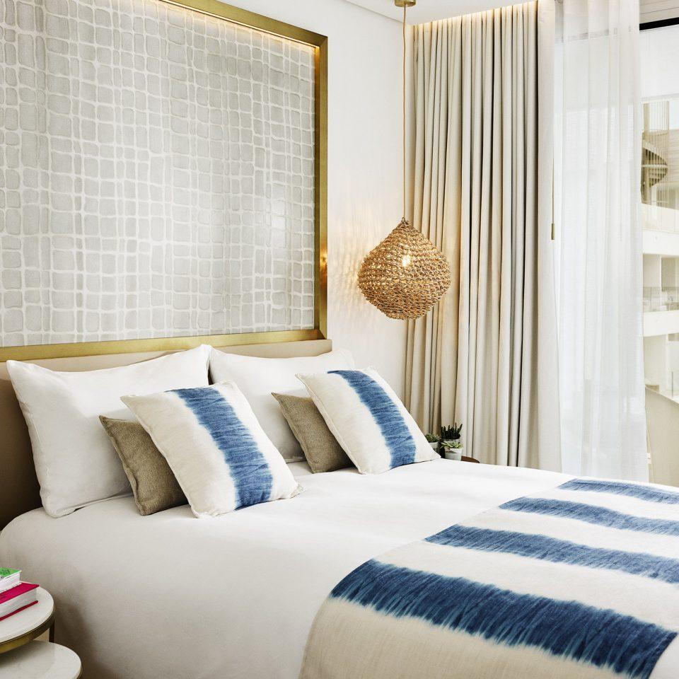 Bedroom Suite home bed frame bed sheet window treatment curtain interior designer