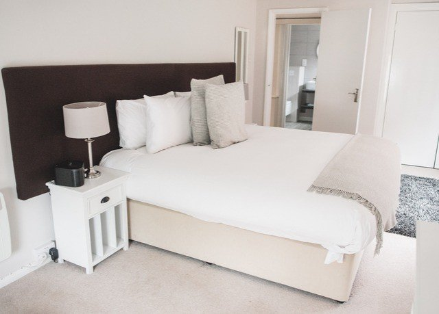 property Bedroom white Suite bed frame bed sheet studio couch living room cottage
