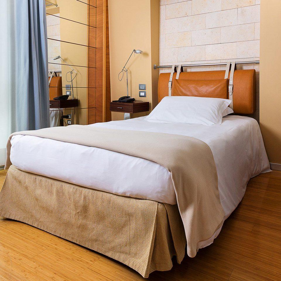 Bedroom property Suite hardwood bed frame bed sheet cottage wood flooring