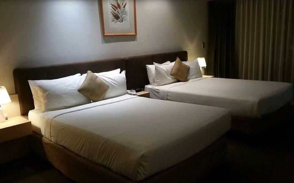 Bedroom property Suite bed sheet cottage bed frame night lamp