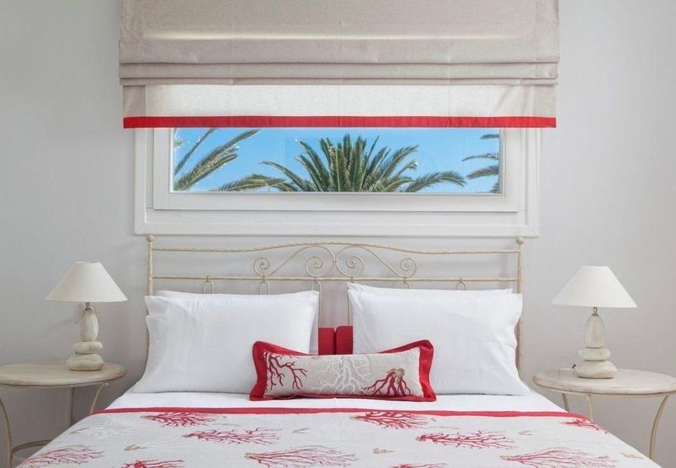 Bedroom pillow red bed sheet cottage textile Suite bed frame