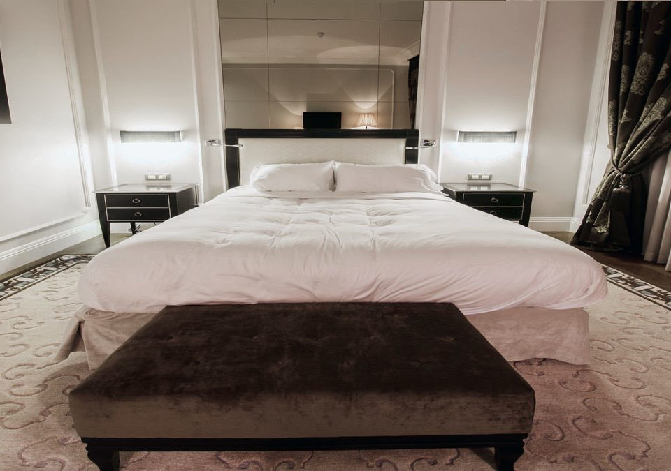 property Bedroom Suite cottage wooden bed frame bed sheet