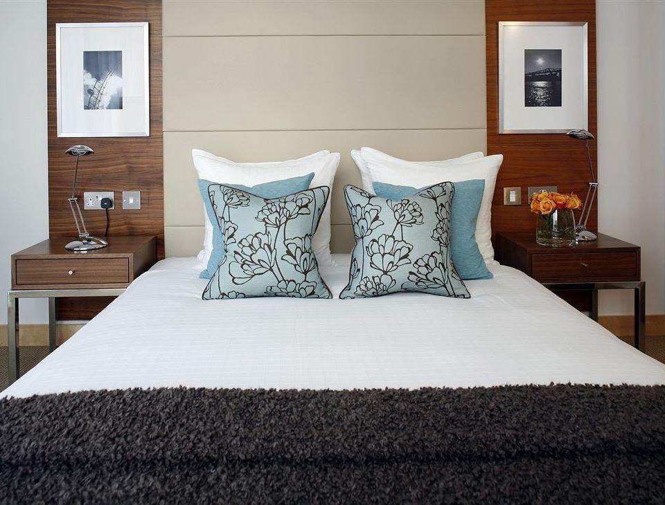 Bedroom property pillow bed sheet duvet cover cottage Suite bed frame textile