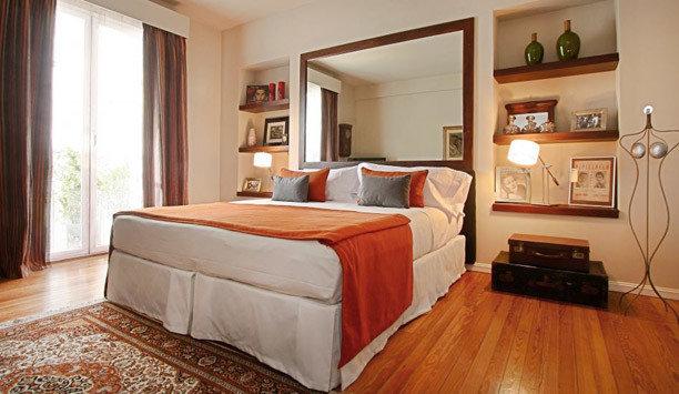 bed frame property Bedroom hardwood Suite wood flooring bed sheet flooring home mattress bedding hard