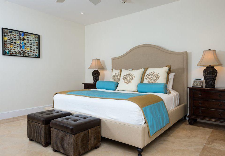 Bedroom property scene Suite cottage living room bed frame bed sheet
