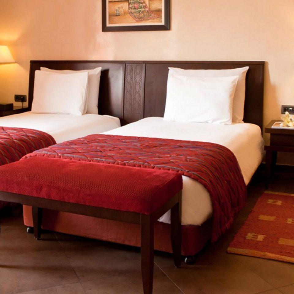 property red Suite Bedroom cottage bed sheet bed frame