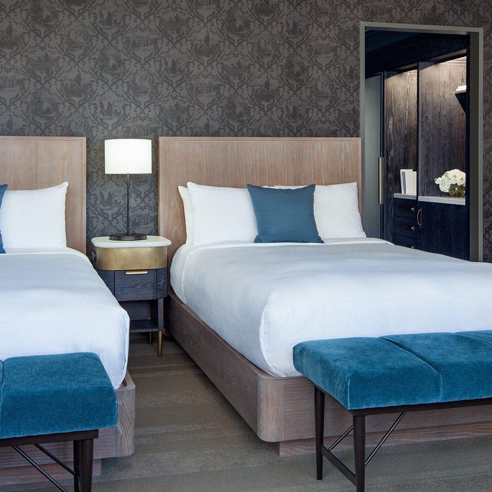 bed frame Suite mattress blue Bedroom bed sheet comfort