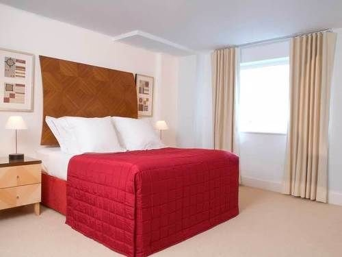 red property Bedroom Suite bed frame bed sheet