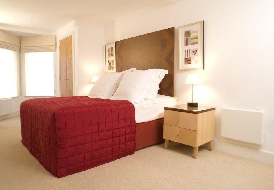 Bedroom property Suite red cottage bed frame bed sheet