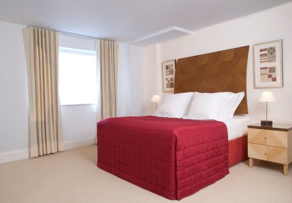 Bedroom red property bed frame Suite bed sheet