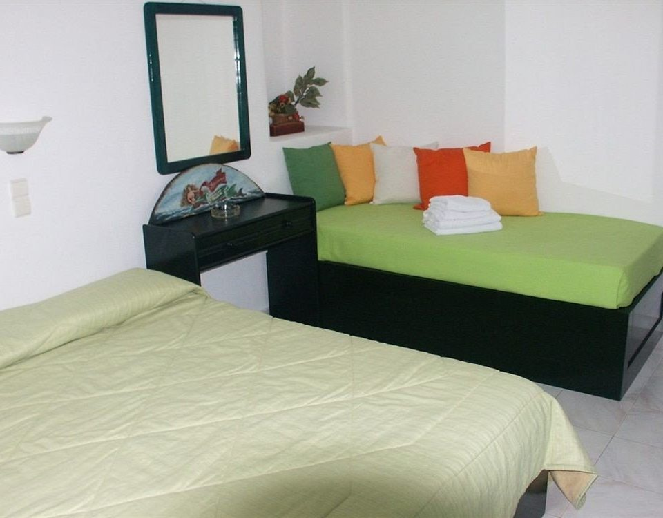 property green Bedroom cottage bed sheet bed frame Suite pillow