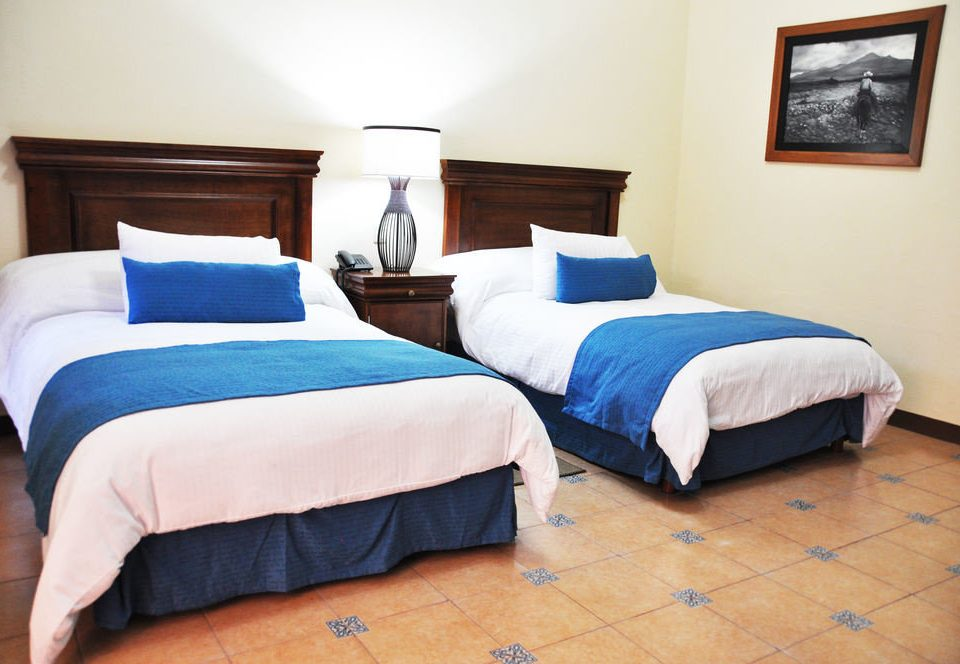 Bedroom property Suite cottage bed sheet blue bed frame