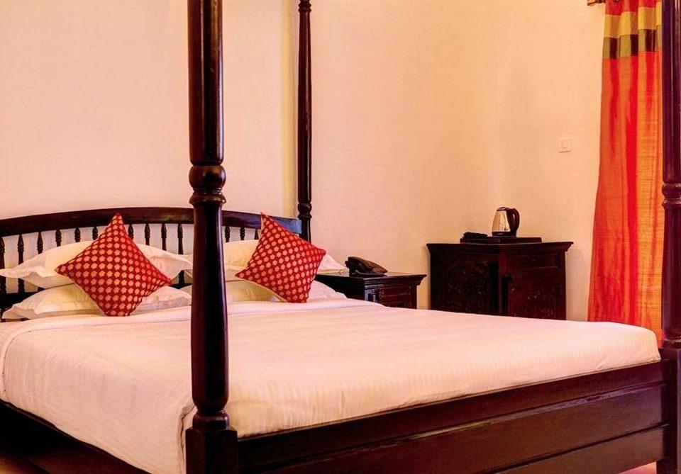 Bedroom property desk lamp Suite curtain bed frame bed sheet cottage