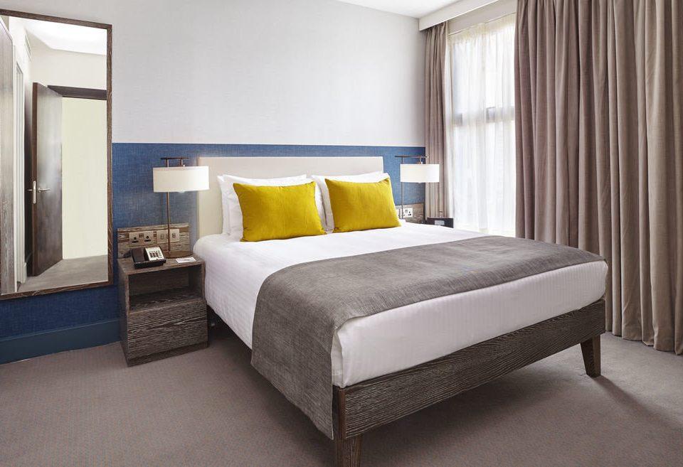 Bedroom curtain property Suite bed frame living room bed sheet cottage lamp