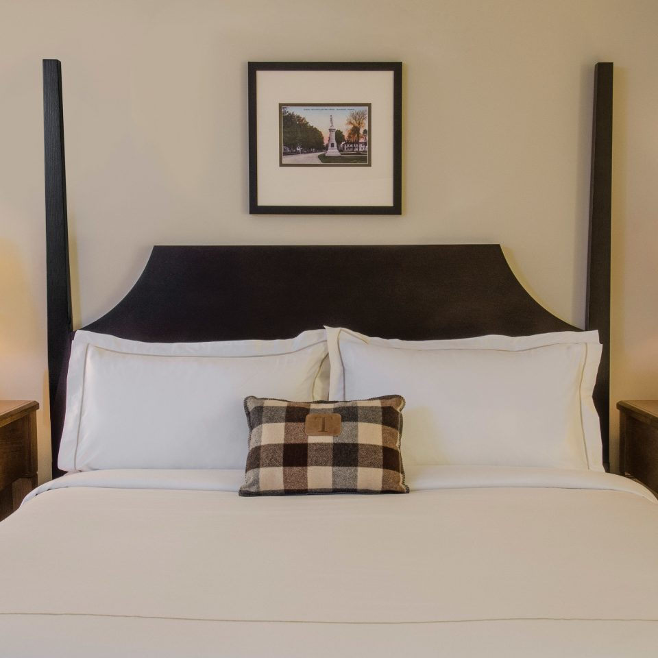 Bedroom property scene Suite cottage bed frame bed sheet pillow