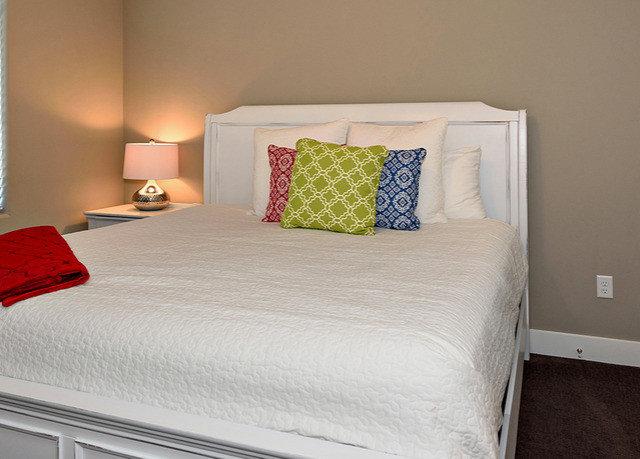Bedroom bed sheet bed frame cottage duvet cover Suite night
