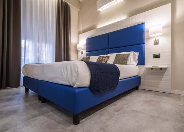 blue property Bedroom Suite bed frame living room bed sheet